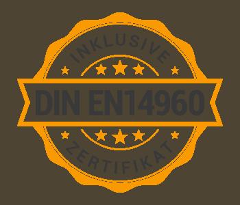 Siegel DIN EN14960