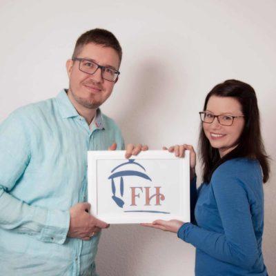 Nicole und Thomas Fischer von Fischer's Hüpfburgen